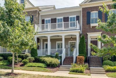 Franklin Condo/Townhouse For Sale: 514 Sydenham Dr