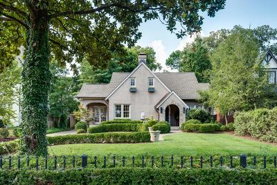 Nashville Single Family Home Active Under Contract: 3904 Valley Rd