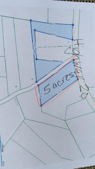 Summertown Residential Lots & Land For Sale: 20 Highway