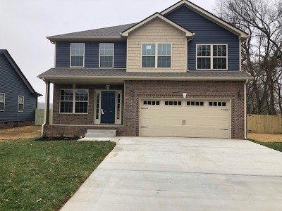 Clarksville Single Family Home For Sale: 227 Timber Springs