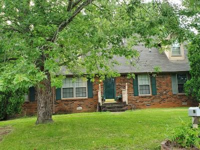 Clarksville TN Single Family Home For Sale: $130,000