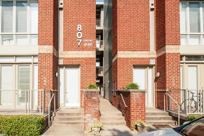 Davidson County Condo/Townhouse For Sale: 807 18th Ave S Apt 414