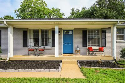Davidson County Single Family Home For Sale: 4443 Andrew Jackson Pkwy