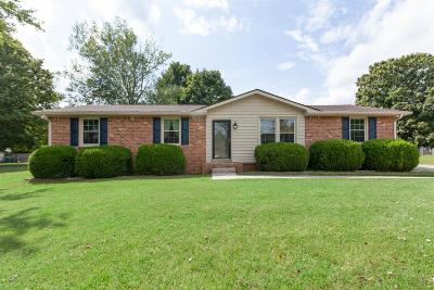 Spring Hill  Single Family Home Active Under Contract: 813 Kincaid St