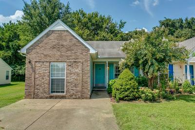Smyrna Single Family Home Active Under Contract: 742 Dellwood Dr