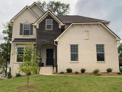Williamson County Single Family Home For Sale: 1014 Maleventum Way Lot-79
