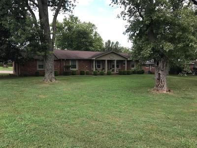 Sumner County Single Family Home For Sale: 197 Curtis Cross Rds