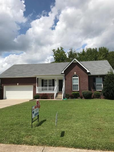 Sumner County Single Family Home For Sale: 118 Braxton Lane East