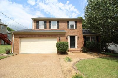 Nashville Single Family Home For Sale: 2808 Harbor Lights Dr