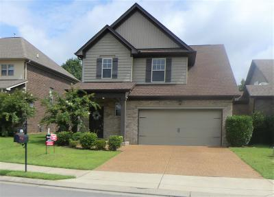 Sumner County Single Family Home For Sale: 176 Annapolis Bend Cir