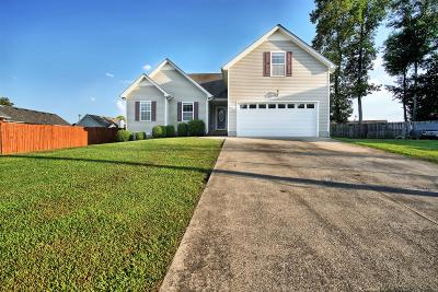 Clarksville Single Family Home For Sale: 1382 Gemstone Ct