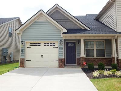 Murfreesboro Condo/Townhouse For Sale: 4405 Prometheus Way