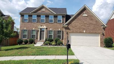 Nolensville Single Family Home For Sale: 2608 Cortlandt Ct