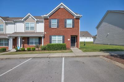 Smyrna Condo/Townhouse For Sale: 3048 Burnt Pine Dr
