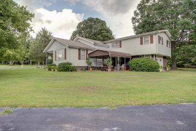 Hohenwald Single Family Home Active Under Contract: 1592 New Kimmins Rd