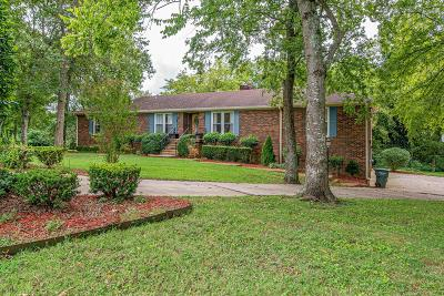 Old Hickory Single Family Home For Sale: 112 Rising Sun Ct