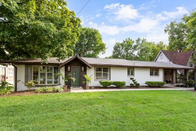 Nashville Single Family Home Active Under Contract: 4111 Murphy Rd