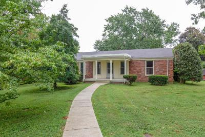 Nashville Single Family Home Active Under Contract: 317 Randall Dr