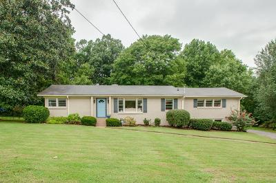 Nashville Single Family Home For Sale: 4419 Milesdale