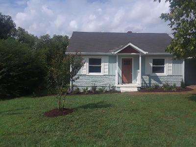 East Nashville Single Family Home Active Under Contract: 1315 Otay St
