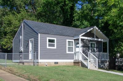 East Nashville Single Family Home Active Under Contract: 620 S 13th St