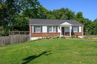 Nashville Single Family Home Active Under Contract: 304 Lorna Dr