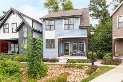 Nashville Single Family Home Active Under Contract: 714 Centerpoint Ln