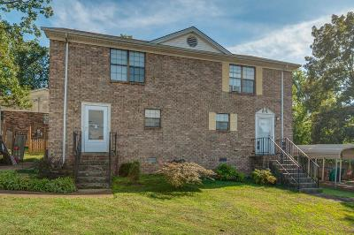 Nashville Single Family Home Active Under Contract: 601 Alison Ct