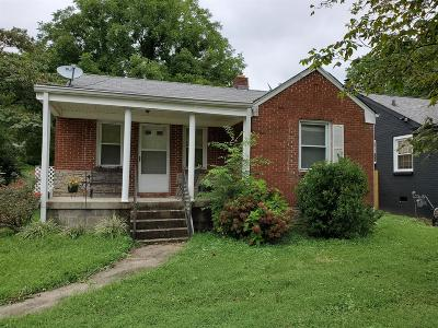 East Nashville Single Family Home For Sale: 1307 Ardee Ave