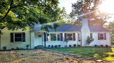 Nashville Single Family Home Active Under Contract: 3900 Ivy Dr