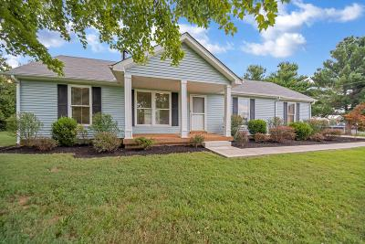 Mount Juliet Single Family Home Active Under Contract: 102 Bland Dr