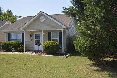 Murfreesboro Single Family Home Active Under Contract: 2710 Oxford Hall Ave