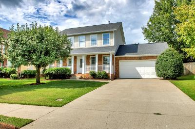 Franklin Single Family Home Active Under Contract: 261 Granger View Cir