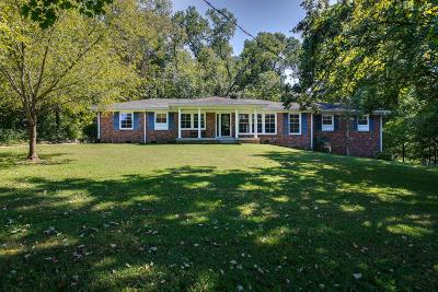 Williamson County Single Family Home Active Under Contract: 107 Harpeth Hills Dr