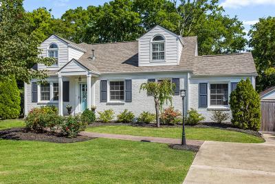Nashville Single Family Home Active Under Contract: 1502 Grandview Dr