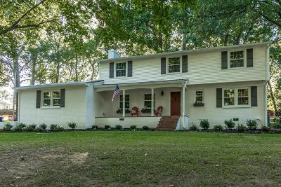 White House Single Family Home For Sale: 312 Hillwood Dr