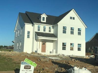 Nolensville Single Family Home Active Under Contract: 144 Madison Mill Drive. Lot 26
