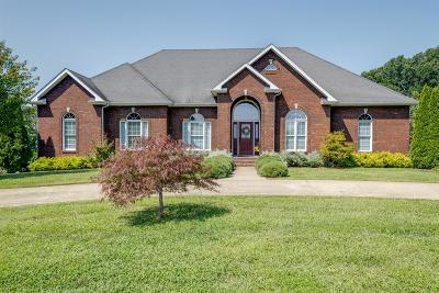 Robertson County Single Family Home Active Under Contract: 3610 Oakland Rd