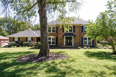 Brentwood Single Family Home Active Under Contract: 5532 Trousdale Dr