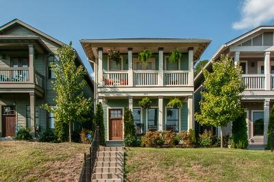 Single Family Home Active Under Contract: 1805B Sevier St