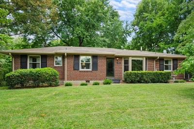 Nashville Single Family Home For Sale: 4809 Briarwood Drive