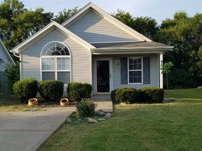 Murfreesboro Single Family Home Active Under Contract: 5064 Boyd Dr