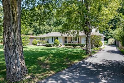 Nashville Single Family Home Active Under Contract: 4936 Briarwood Dr