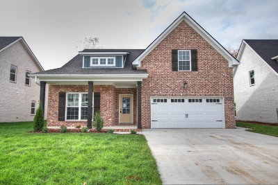 Murfreesboro Single Family Home For Sale: 3511 Pershing Dr.- Lot 11