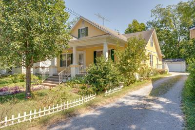 Shelbyville Single Family Home For Sale: 622 N Jefferson St