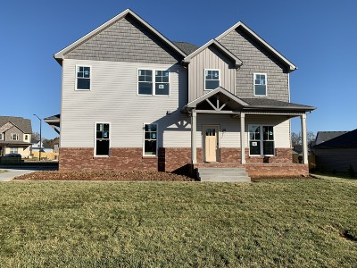 Clarksville Single Family Home For Sale: 58 Reserve At Sango