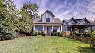 Nashville Single Family Home Active Under Contract: 2109 Rose Cliff Dr