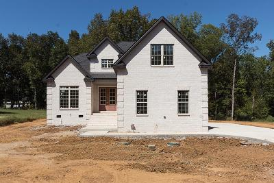 Murfreesboro Single Family Home For Sale: 3534 Courtney Ln Lot 5