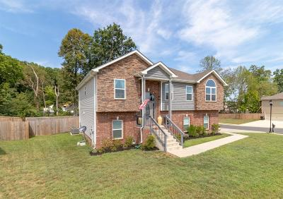Clarksville Single Family Home For Sale: 1197 Gentry Dr