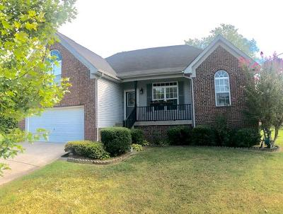 Mount Juliet Single Family Home Active Under Contract: 533 Summit Way